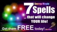 "Get ""7 Spells That Will Change Your Life"" - FREE TODAY"